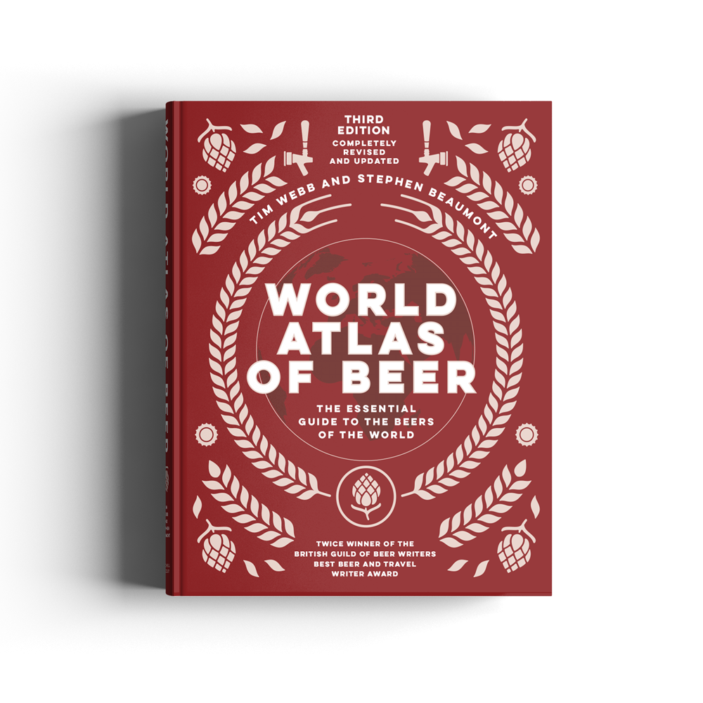 World Atlas of Beer Cover - Stephen Beaumont